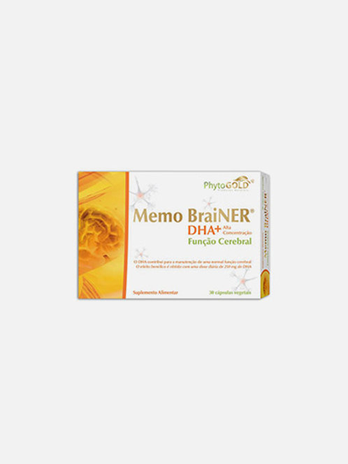 DHA+ MEMOBRAINER - 30 CÁPSULAS - PHYTOGOLD