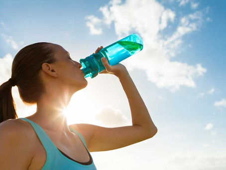 Efeitos da água rica em hidrogénio no desporto