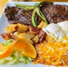 Asada and Eggs $15.99