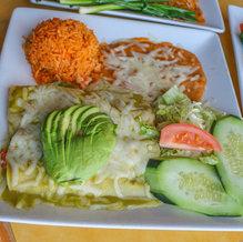 Shrimp & Crab Enchiladas $16.99