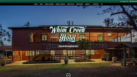 Whim Creek website