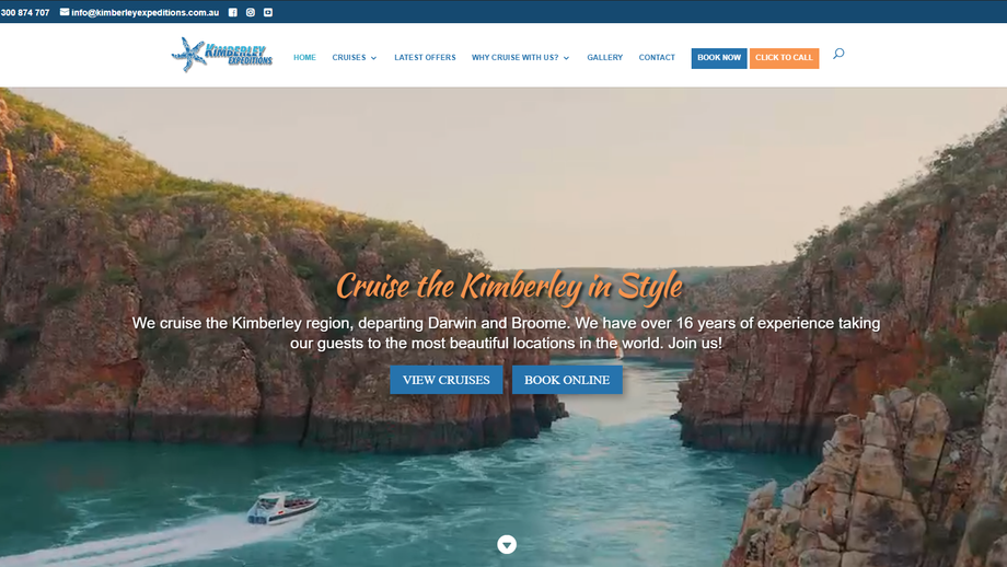 Kimberley website