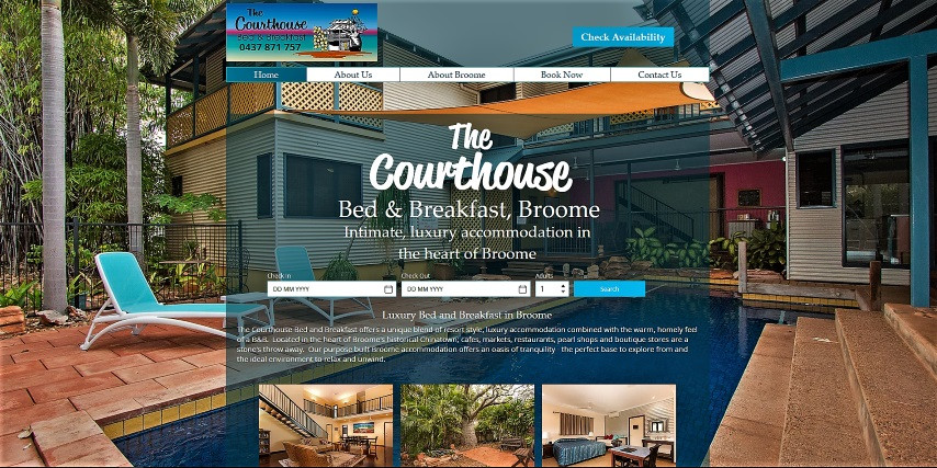 CB Broome website