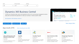 Dynamics 365 Business Central AppSource