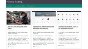 Dynamics 365 Microsoft Blog Page