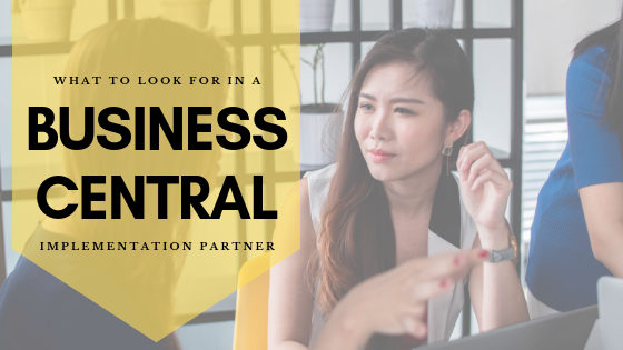 Finding a Business Central implementation partner