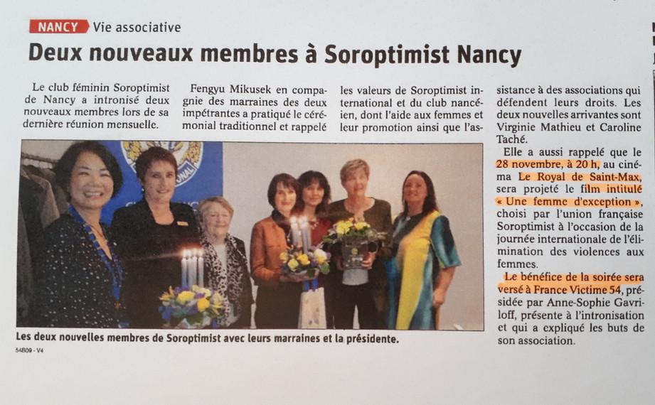 201911- Article Est Républicain