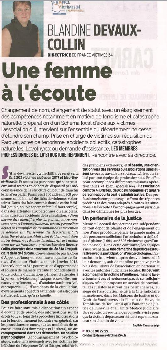 201805 - Article La Semaine