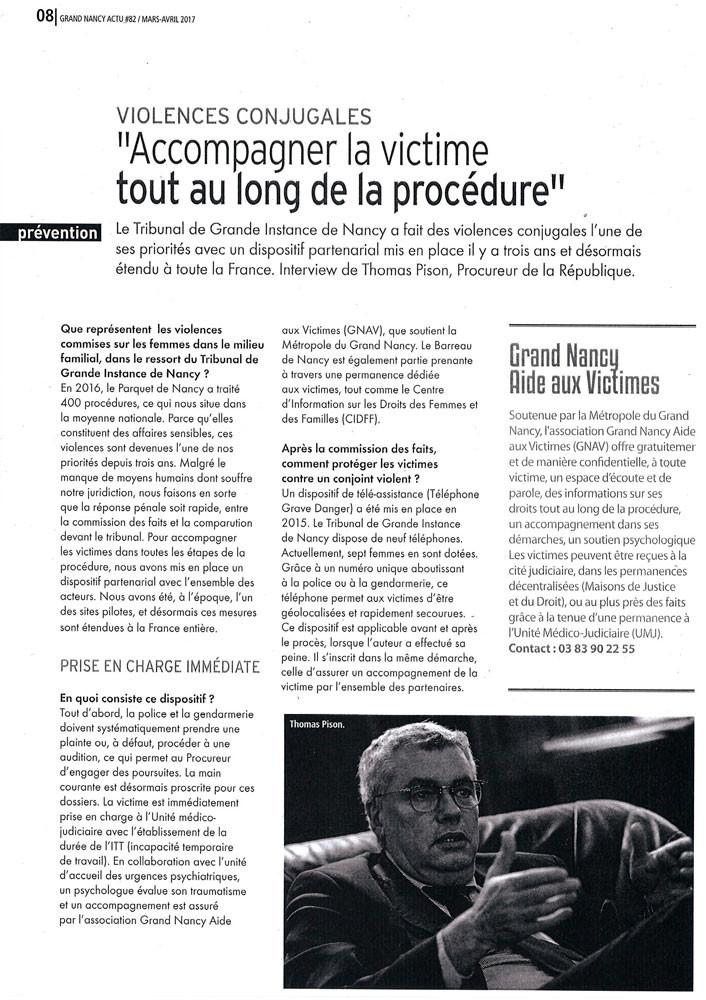 201703 - Article Grand Nancy Actu