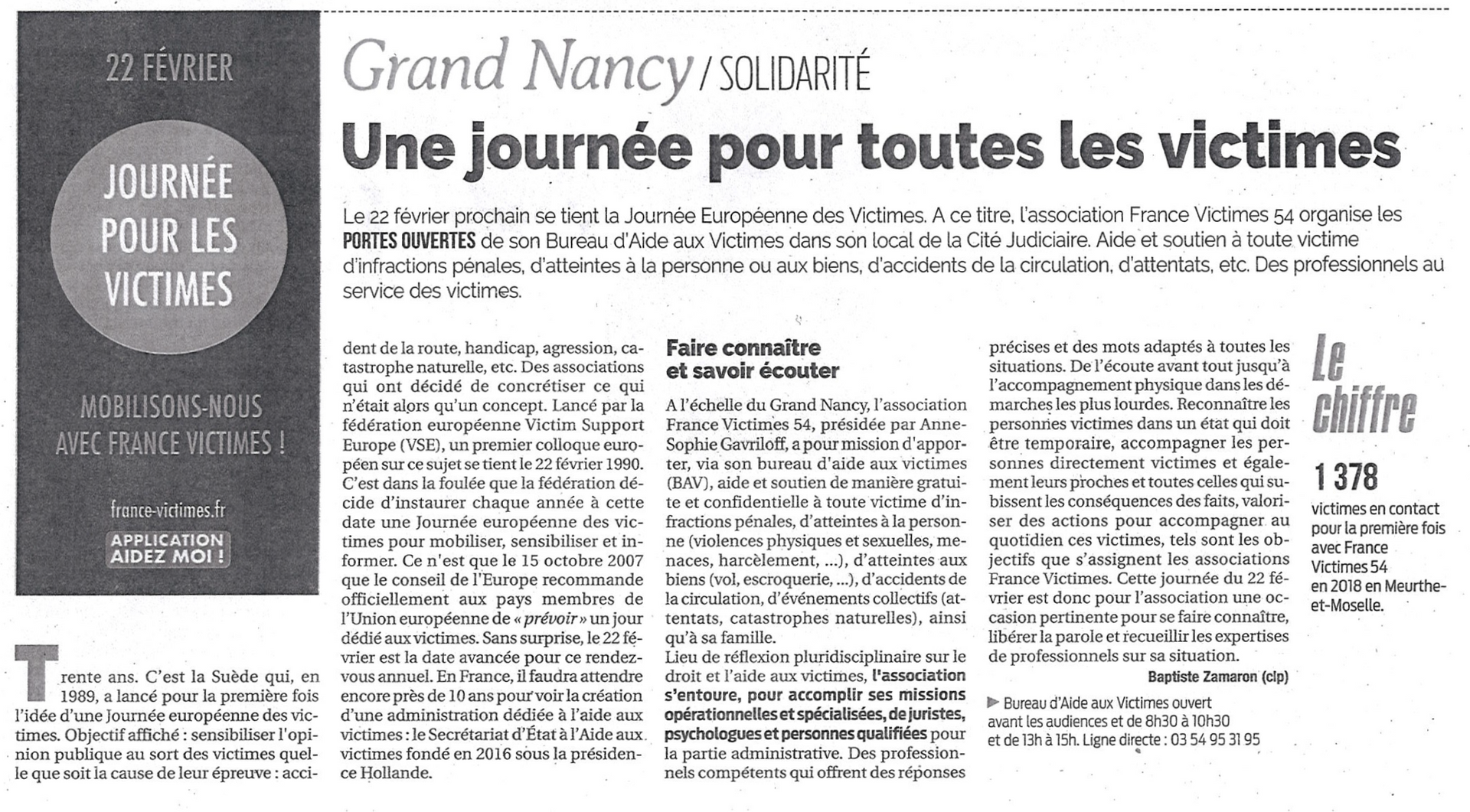 201902 - Article La Semaine