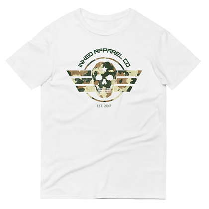 Inked Camouflage Military Tee