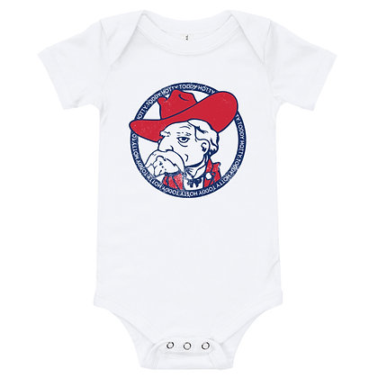 Ole Miss Colonel Reb Infant Bodysuit/Onesie