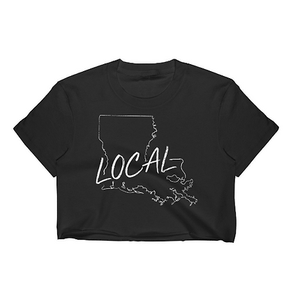 Louisiana Local Crop Top
