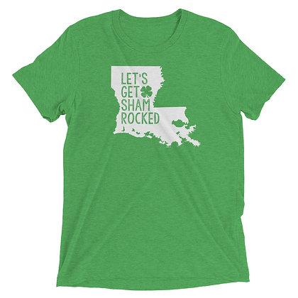 Let's Get Shamrocked Louisiana St. Patrick's Day Tee