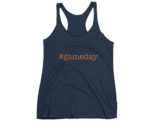 Auburn Hashtag #Gameday Racerback Tank