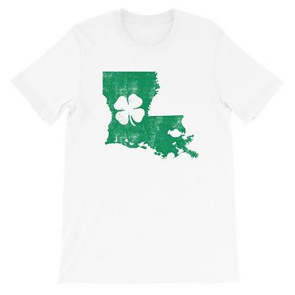 St. Patrick's Day Louisiana Shamrock Tee