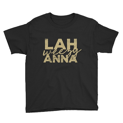New Orleans Lah Weezy Anna Youth Tee