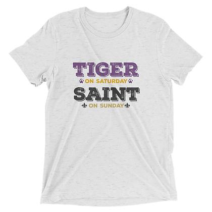 Tiger on Saturday Saint on Sunday Tee