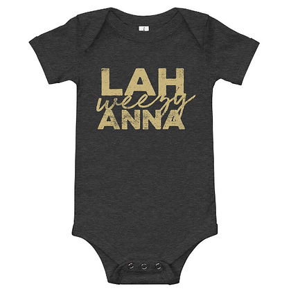 Lah weezy Anna (New Orleans, Louisiana) Bodysuit/Onesie