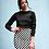 Thumbnail: Checkered Flag Racing Skirt - mini