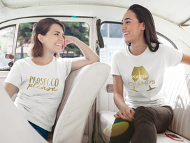 two-happy-girls-talking-while-wearing-di