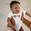 Thumbnail: American Flag Aviator Infant Bodysuit/Onesie