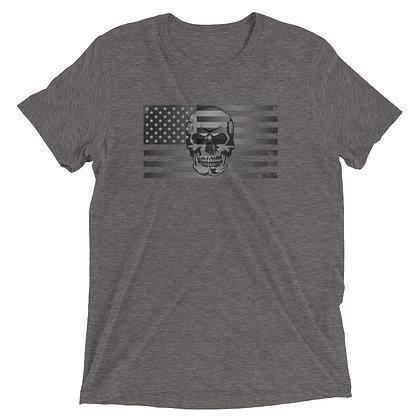 Skull American Flag Tee