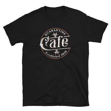 Quarantine Cafe with Chef Jeffrey Gardner Short-Sleeve T-Shirt