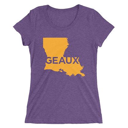Louisiana State Geaux Ladies Tee