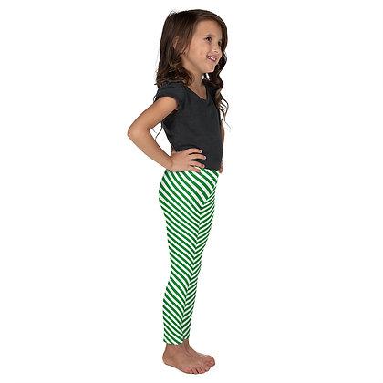 Candy Cane Leggings - Kids