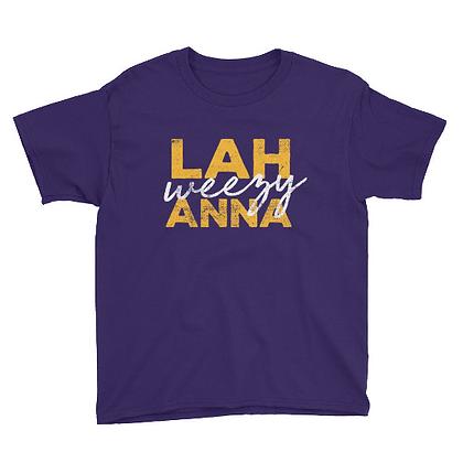 Lah Weezy Anna (Louisiana) Youth Tee