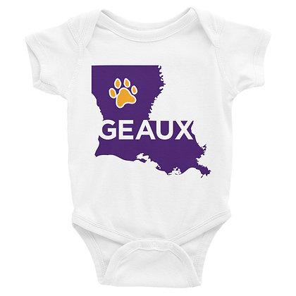 Louisiana Geaux Infant Bodysuit/Onesie