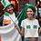 Thumbnail: St. Patrick's Day Shamrock Bikini Crop Top