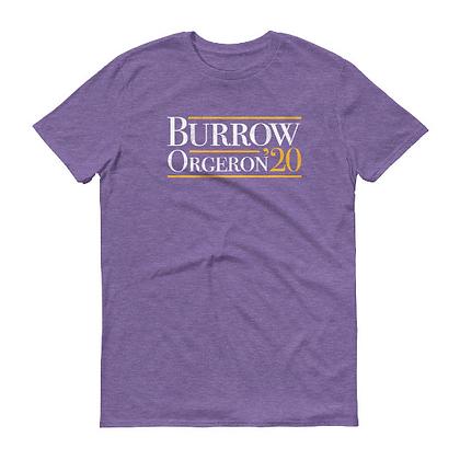Burrow Orgeron 20' Presidential Short Sleeve Tee