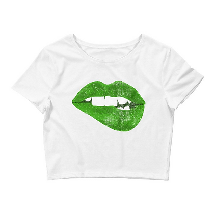 Kiss Me St. Patrick's Day Crop