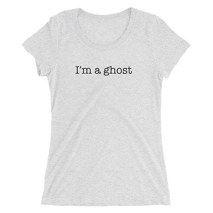 I'm A Ghost Ladies Tee - Halloween