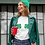 Thumbnail: St. Patrick's Day Shamrock Bikini Ladies' short sleeve t-shirt