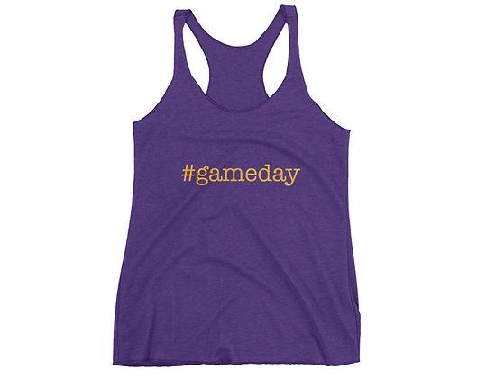 Louisiana Hashtag #Gameday Tank