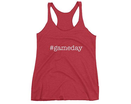 Alabama Hashtag #Gameday Racerback Tank