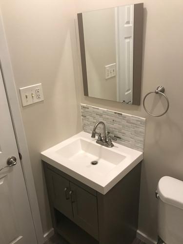 Small bathroom overhaul