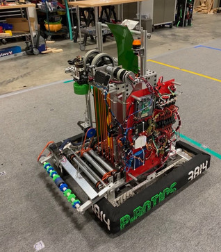 Our 2020 - 2021 Robot!