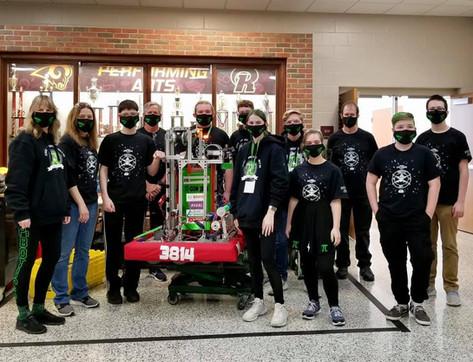 Rambotics Robotics Scrimmage! We placed Finalist!