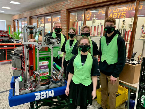 Our Drive Team at Rambotics Robotics Scrimmage!