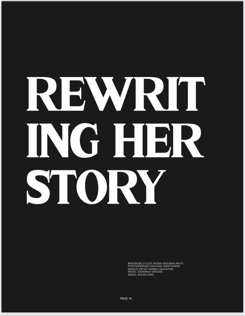 """REWRITING HERSTORY"" Published in Mob Journal Magazine"