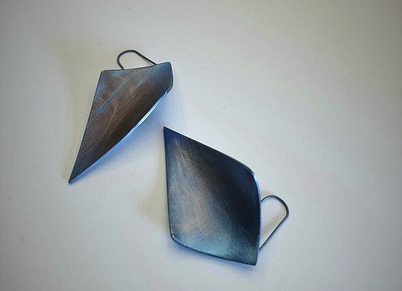 Boucles d'oreilles de la collectionTitania Blue