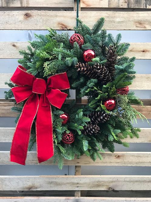 """""""Glamorous"""" Holiday Wreath"""