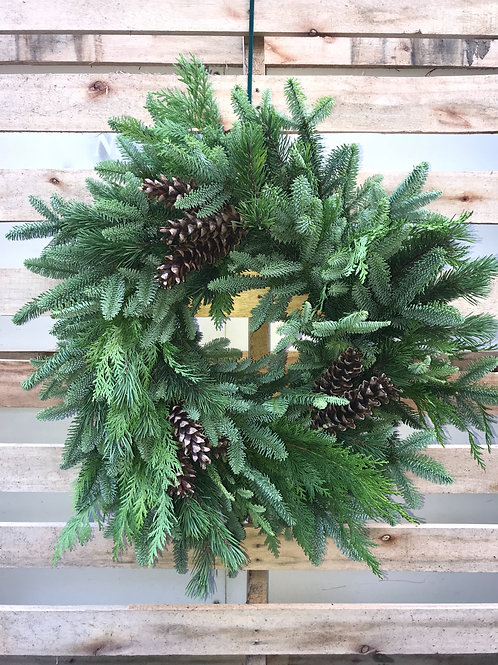 """""""Langlois Local"""" Holiday Wreath"""