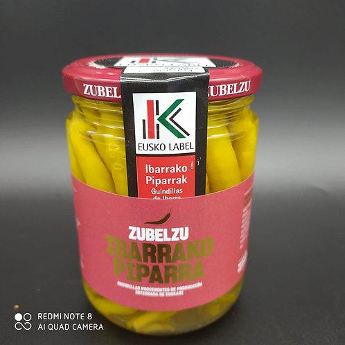 Piparrak Euskolabel Zubelzu (380gramos)