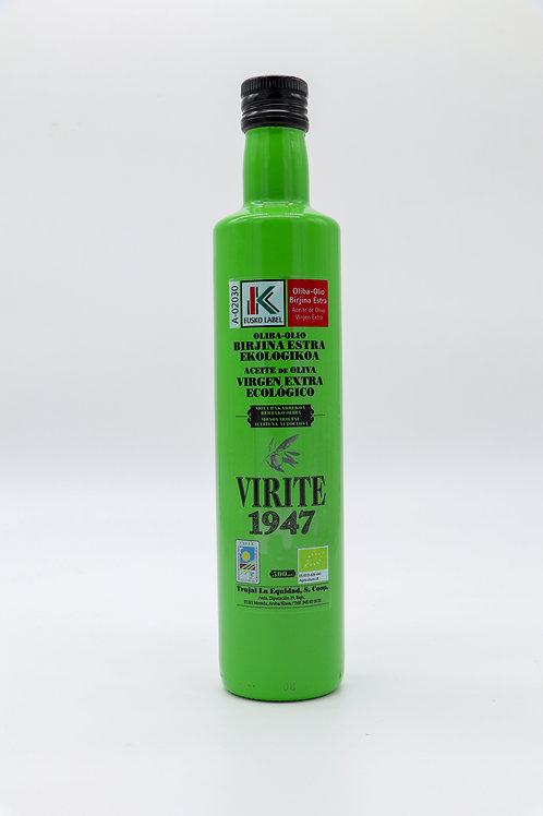 Aceite Ecológico Euskolabel Virgen Extra (500ml)