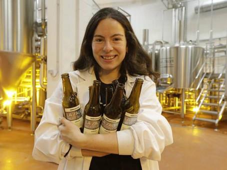 Karla González, una maestra cervecera de éxito en La Salve